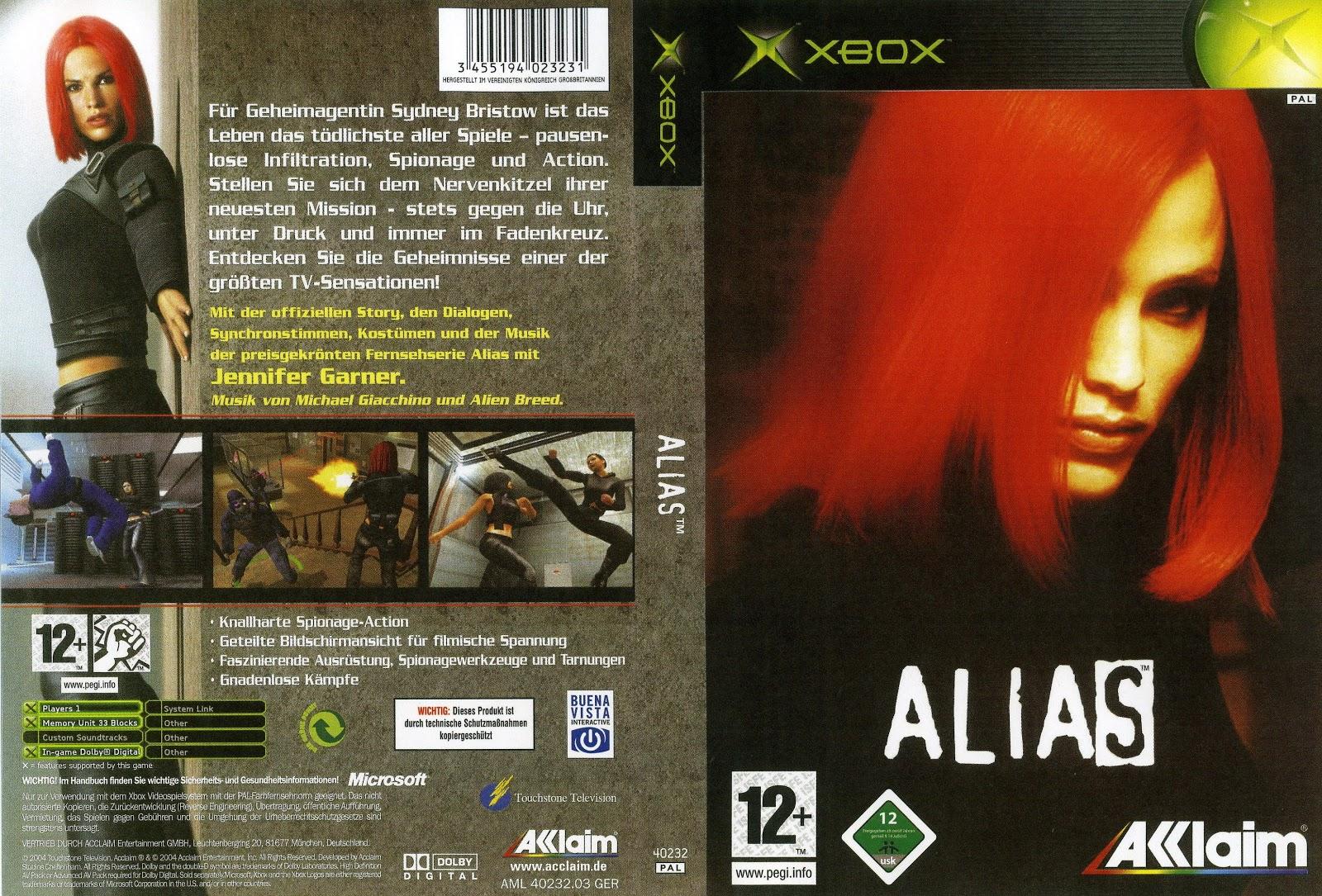 Capa Alias Xbox