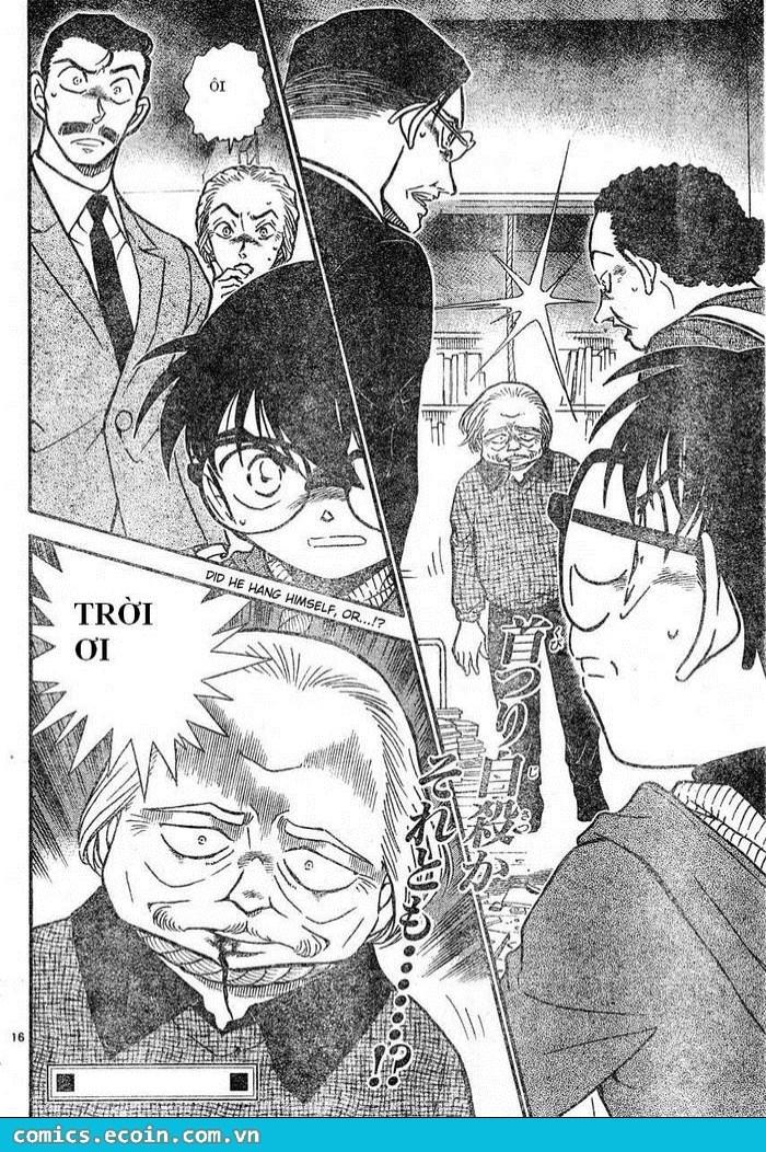 Detective Conan - Thám Tử Lừng Danh Conan chap 588 page 16 - IZTruyenTranh.com
