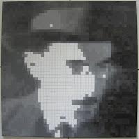 Fernando Pessoa: Pintura Quadrículas 12