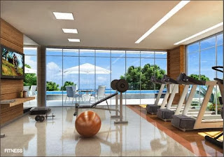 miramar residencial - fitness