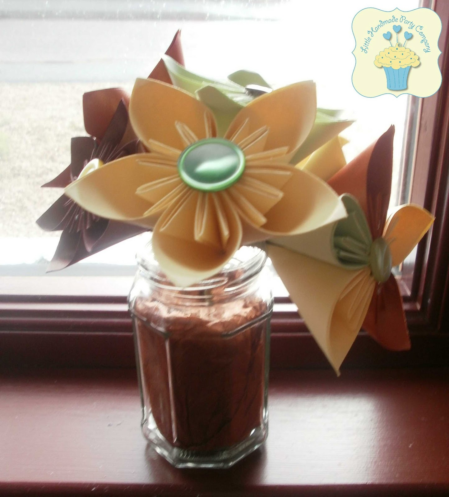 Little Handmade Party Company How To Make Paper Flowers