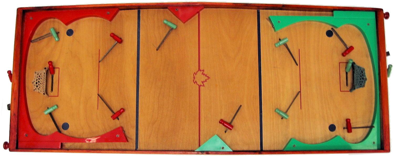 Vintage table hockey - Vintage Table Hockey 5