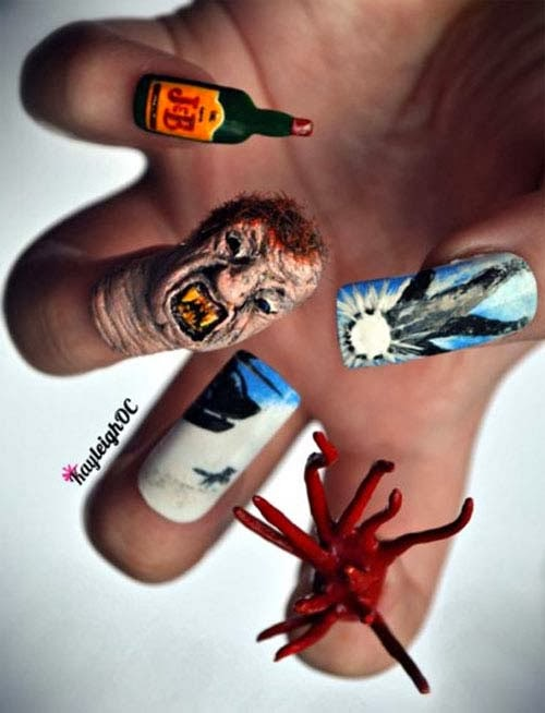 Halloween Nails Designs - Pccala