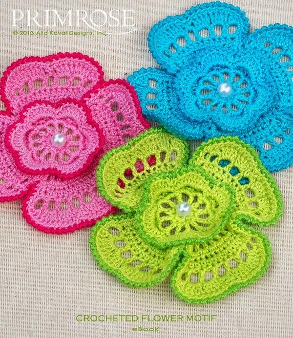 Flores en crochet , patrones. | Crochet desde El Tabo.