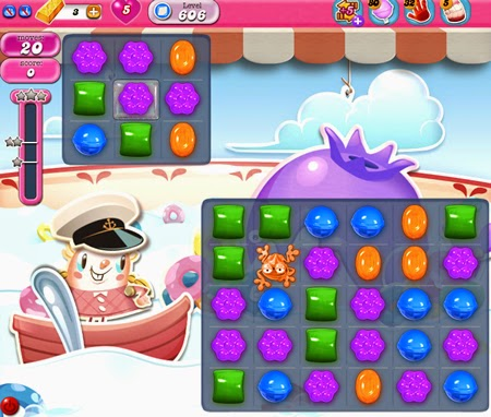 Candy Crush Saga 606