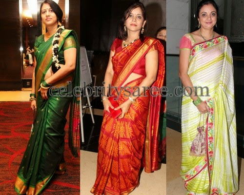 Silk Sarees for Middle Aged Women