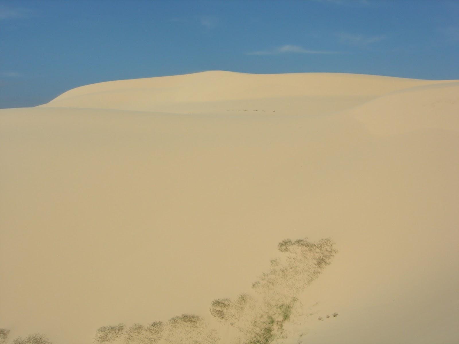 Песчаные дюны во Вьетнаме