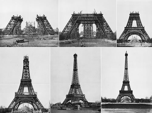 Eiffel Tower How Is Made Onarchitects