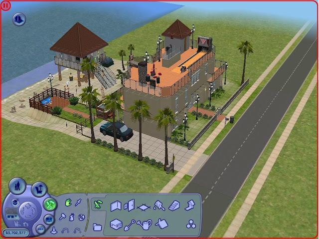 Catatan Harian Ntul Tentang Sims Loh Kalo Kamu Main 2. Image Number 42 Of Desain Rumah Mewah . & Desain Rumah Mewah The Sims 2 \u0026 The Big House [Lot 2]