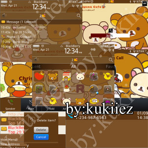 1 1111051134380 L Rilakkuma themes for blackberry 9780,9700,9650 os6.0