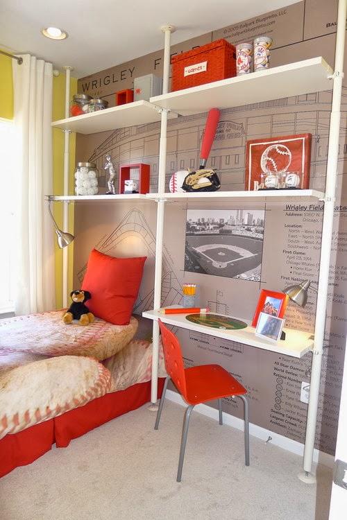 Habitaciones juveniles para espacios peque os for Habitaciones juveniles para poco espacio