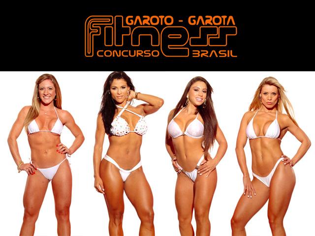 Elana, Marissol, Renata e Veronica - Candidatas do Concurso Garota Fitness Brasil 2012