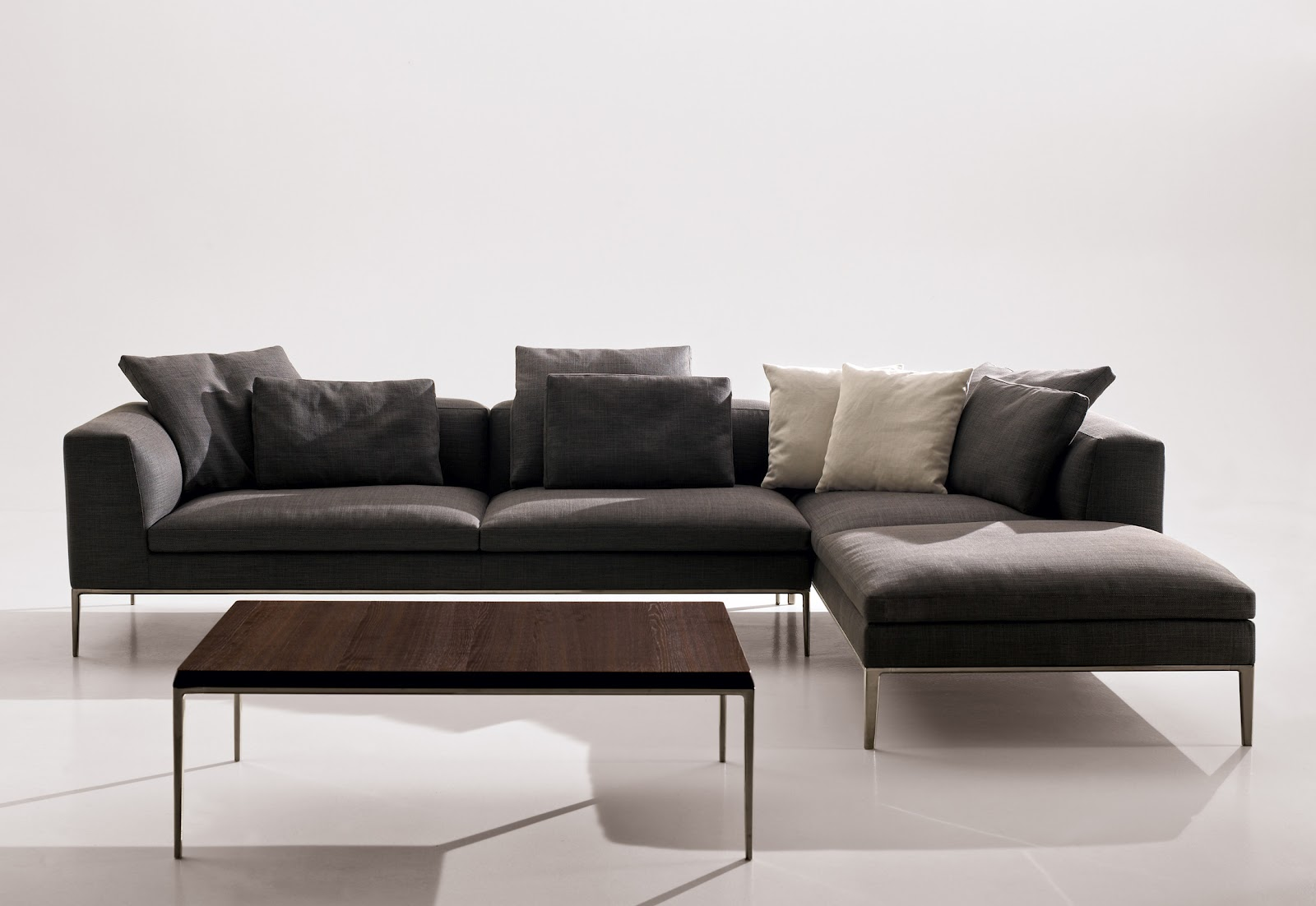 Michel sofa by b b italia designer furniture fitted for Design sofa