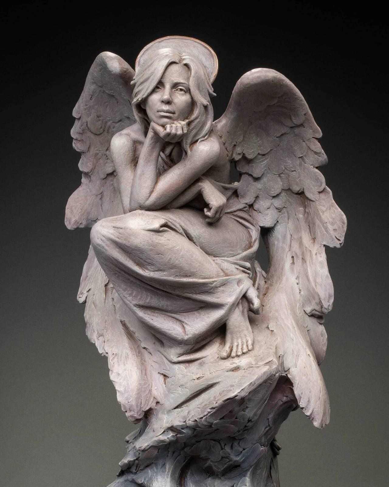 en Hammond An Angel in Contemplation
