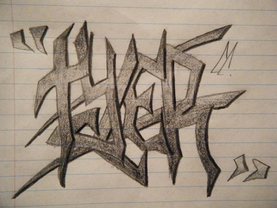 Easy To Draw Graffiti
