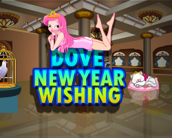 Dove New Year Wishing