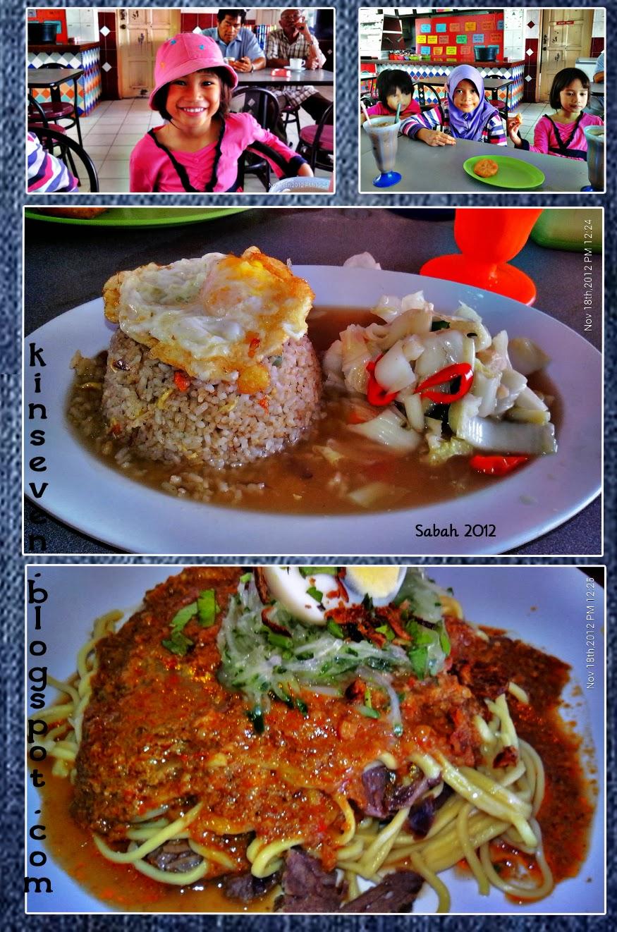makan makan di Kota Belud