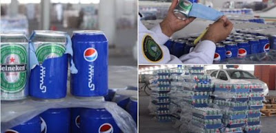 Δείτε πως λαθρέμπορος προσπάθησε να περάσει μπύρες στην Σαουδική Αραβία