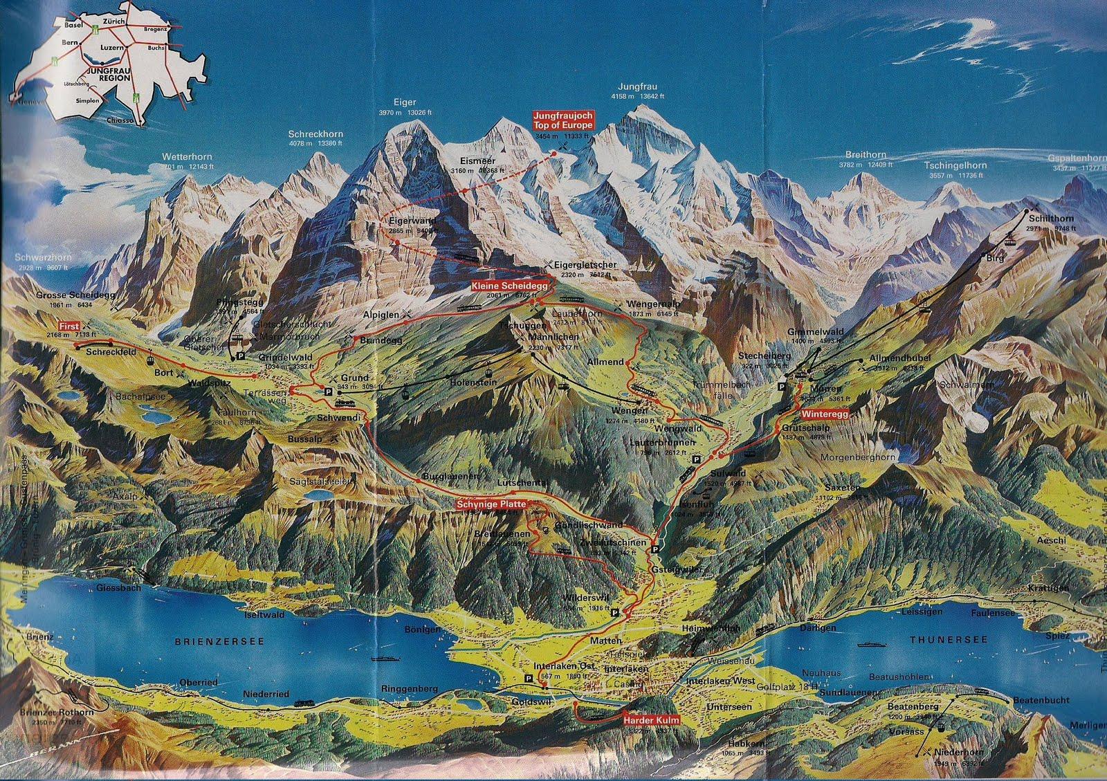 Ginebra Suiza Que Ver Mapa