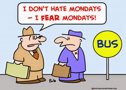 Going back to office on monday Very Funny Humor Cartoon Jokes