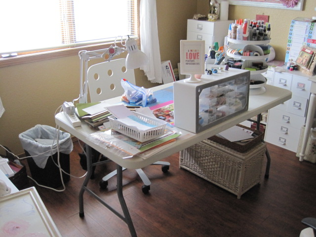 Cherished Treasures Rearranging My Craft Room Again