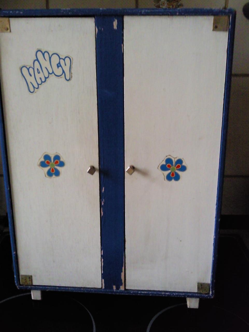 Juguetes de la infancia armario nancy para restaurar - Restaurar armario ...