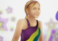 Jimnastikçi Kız ile Atla
