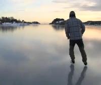 noruego lago