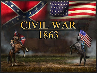 Civil War 1863 South vs North