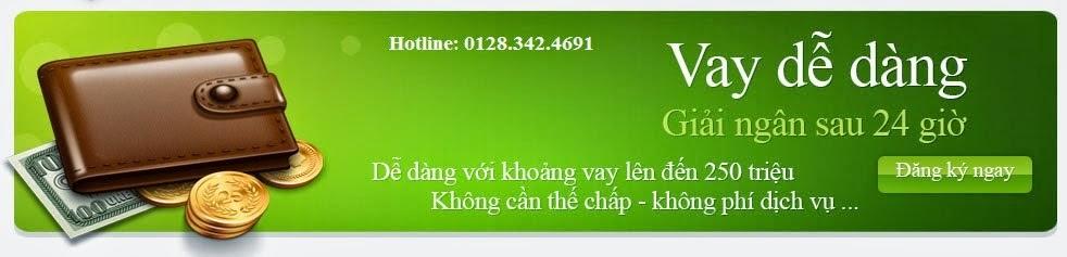 Vay tín chấp Đà Nẵng| Lãi suất 0,4%| LH 0935.593.370