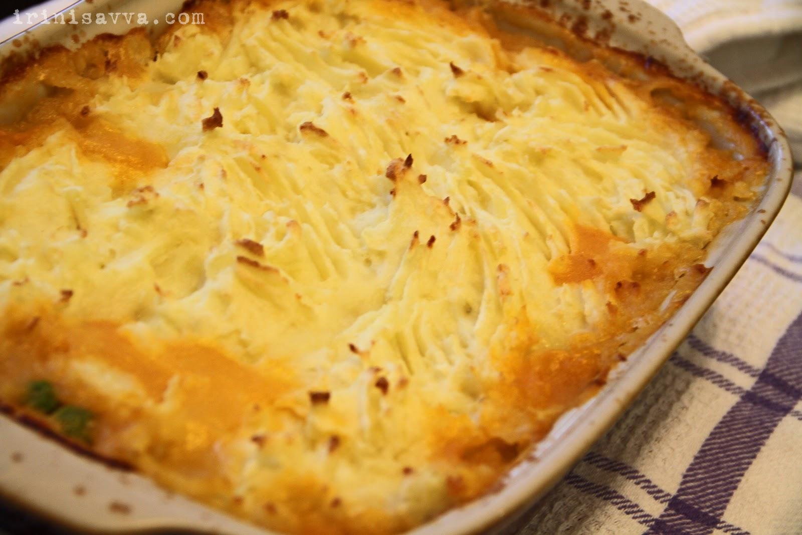 Irini Savva: Comforting Mediterranean Fish Pie