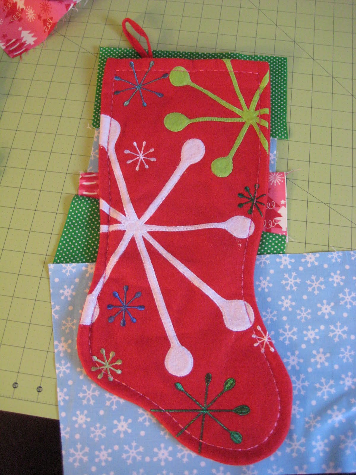 mommy for reals tutorial quilted christmas stocking
