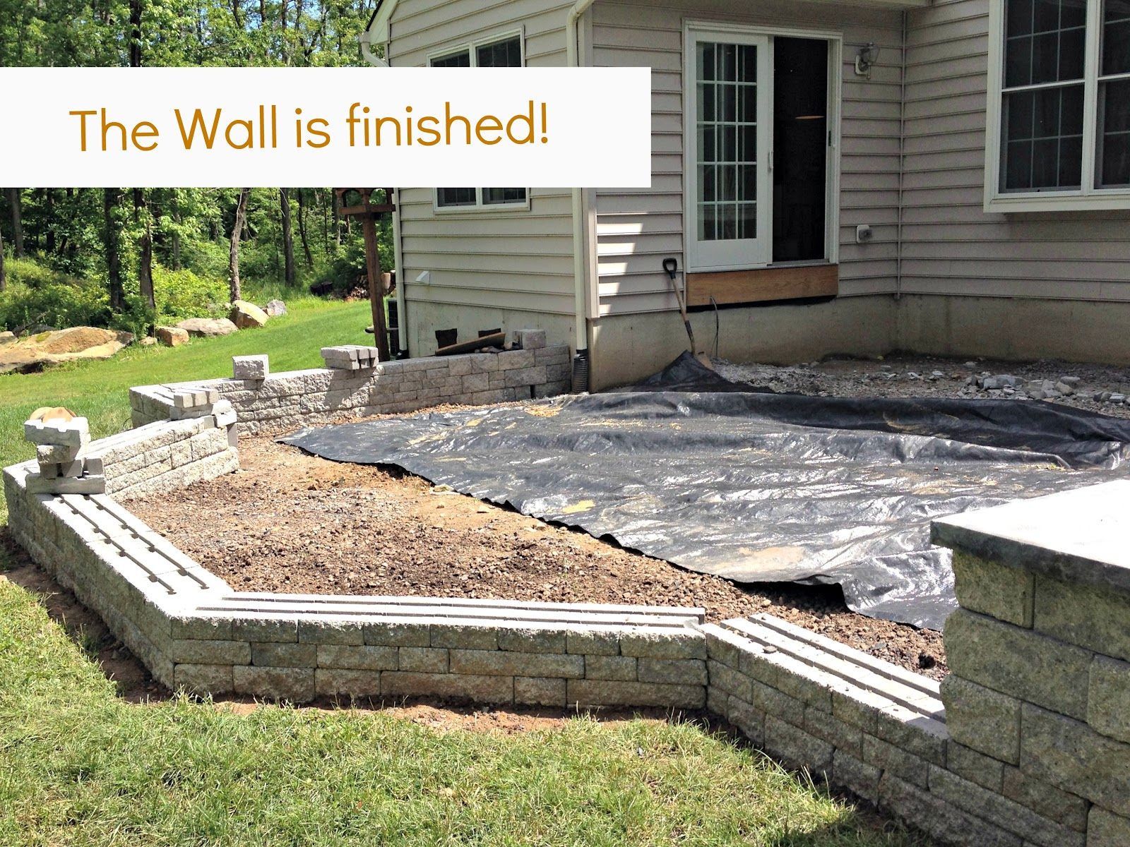 Building A Flagstone Patio : Diy patio update week east coast creative