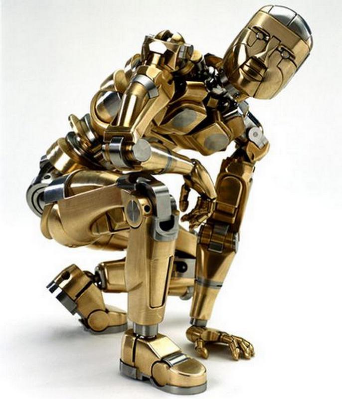Как сделать живова робота своими руками