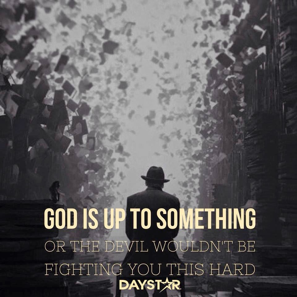 God, fighting, devil, hard,
