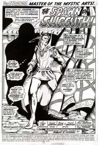 Splash Page: Doctor Strange