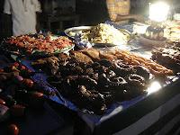 food in Forodhani Gardens Zanzibar