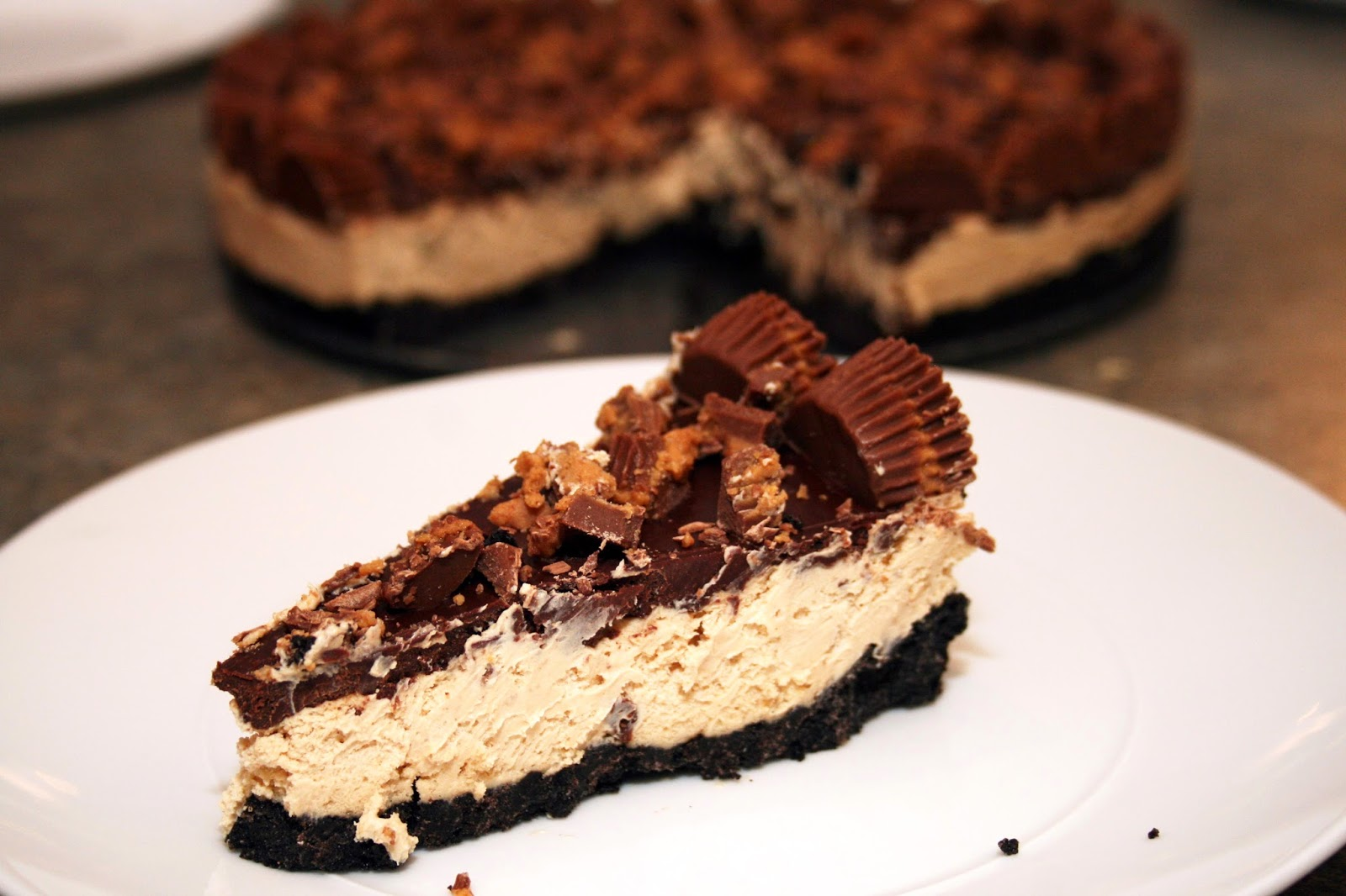 Lazy Gluten Free: Gluten-Free Chocolate Peanut Butter Pie