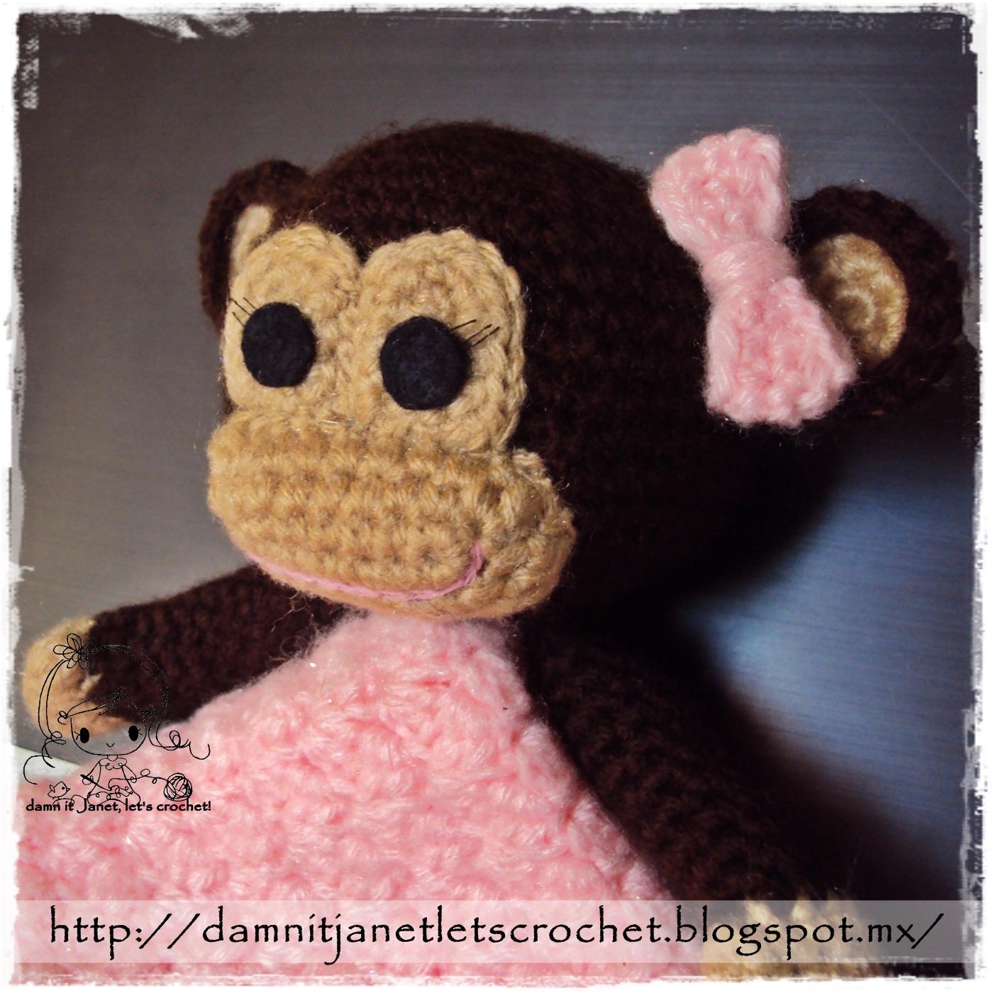 Free crochet patterns monkey blanket dancox for monkey security blanket free crochet patterns bankloansurffo Images