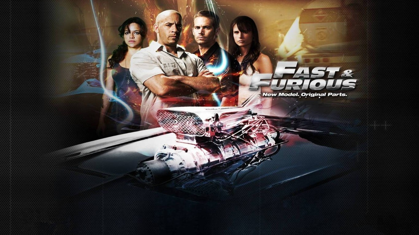Wallpaper HD New fast and furious 7