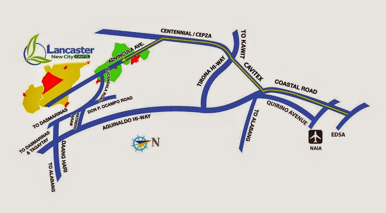 Cavite Road Map