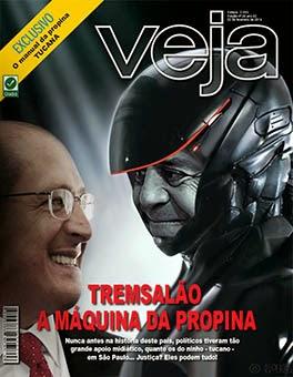 Trensalão de Alckmin não é capa da Revista  Veja