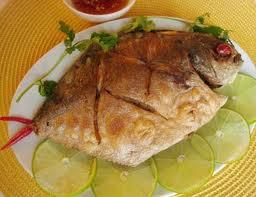 Cá Chim Sốt Bơ Chanh