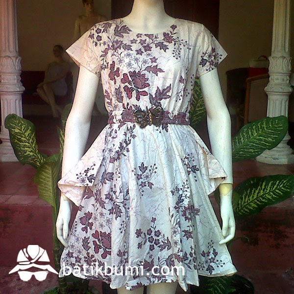 dress batik ciby melati