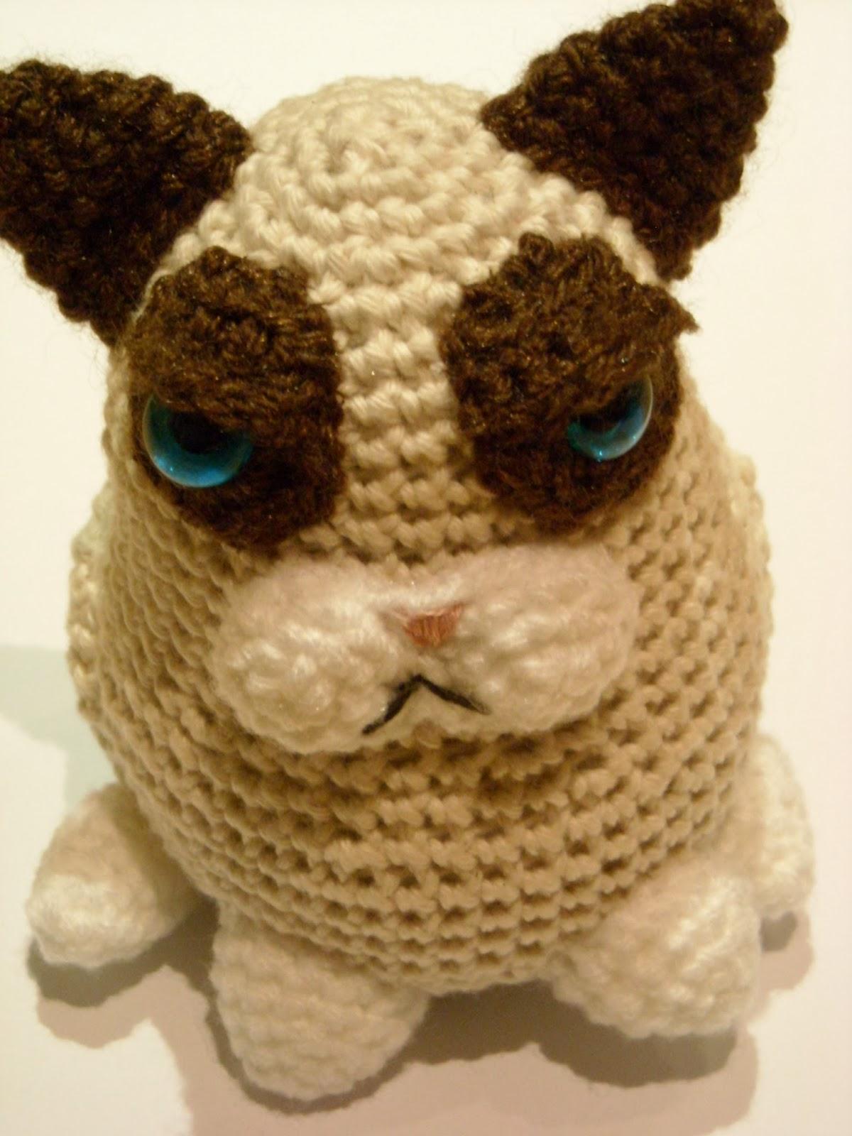 Anleitung Grumpy Cat// Pattern Grumpy Cat