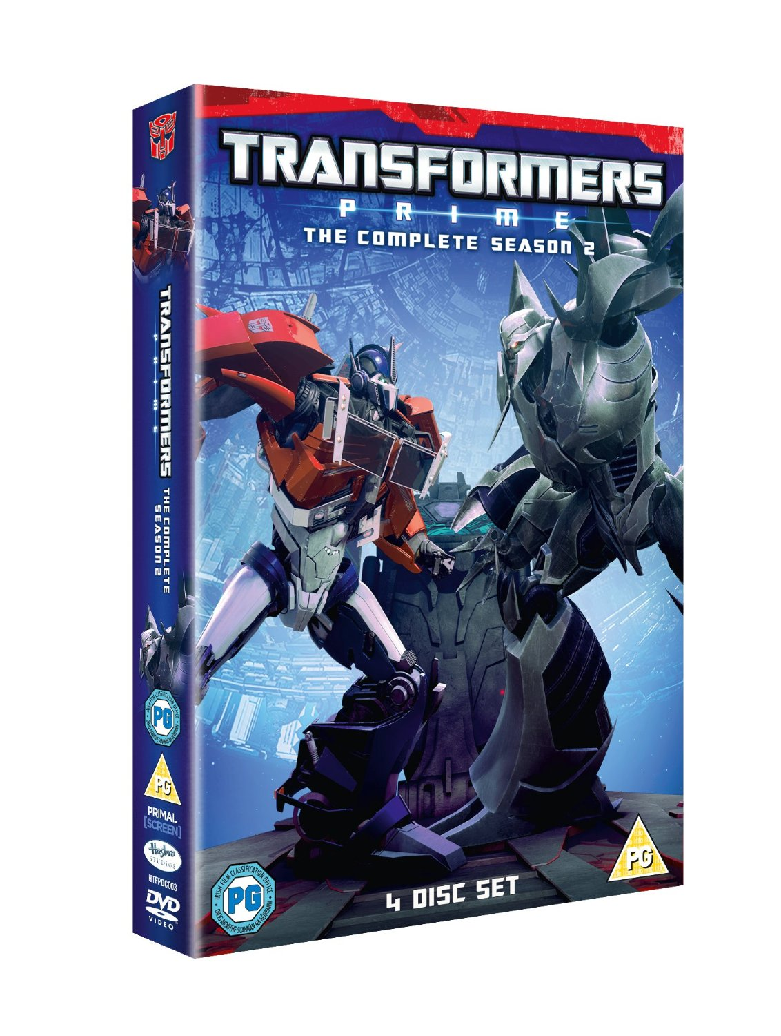 Transformers Prime Complete Season 2 Second Box Set