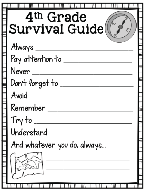 School Worksheets For 4th Graders : Countdown to summer create teach share