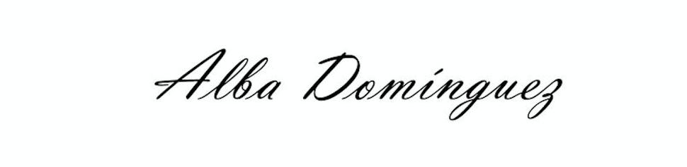 Alba Domínguez Blog