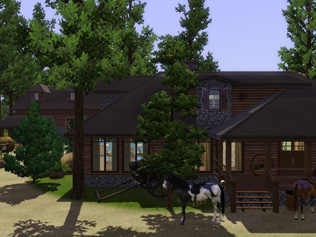 my sims 3 blog le ranch by rabiere. Black Bedroom Furniture Sets. Home Design Ideas