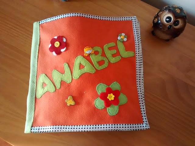 Quiet Book com capa personalizada | @ateliemadrica